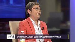 Rosa Quintana: «Se puede vivir bien del cerco»