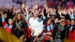 Beyoncé, Coldplay y Bruno Mars homenajean a la Super Bowl