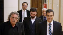 ERC pide a Pedro Sánchez «que se aclare»