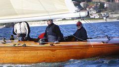 El paseo en velero de Juan Carlos I, en fotos