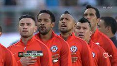 ¿Pitbull cantando el himno de Chile?