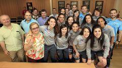 El alcalde de Burela recibe a las campeonas