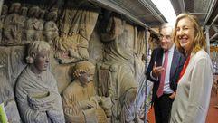 Así estánlos trabajos de restauración del Pórtico de la Gloria en la Catedral de Santiago