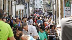 El ambiente del Día de Galicia, en imágenes
