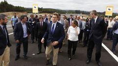 El presidente de la Xunta inaugura la Autovía