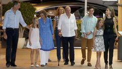 La Familia Real al completo en Mallorca