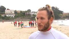 ¿Un futuro campeón olímpico de surf gallego?