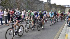 Las imágenes de la Vuelta en la etapa que llegó a Lugo