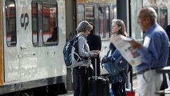 Así es el tren que conecta Vigo y Oporto