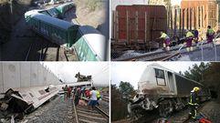 ¿Por qué puede descarrilar un tren?