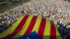 La Diada llena las calles de Barcelona