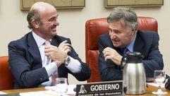 De Guindos explica el caso Soria en la Comisión de Economía