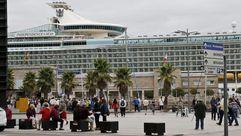 «Independence of the Seas», la otra alegría del día para el turismo