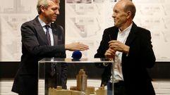 Exposición de los proyectos en la sede de la Xunta en Vigo
