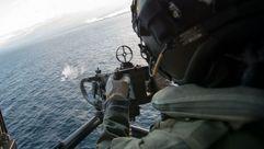 Los helicópteros también protagonizan el ejercicio Noble Mariner de la OTAN