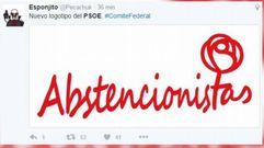 El humor tuitero y la abstención socialista
