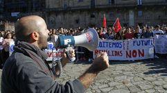 Luís Villares: «O que vai en contra da ética é a financiación ilegal dos partidos»
