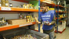 'Gonzo', embajador solidario del Banco de Alimentos