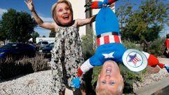 La jornada electoral en Estados Unidos, en imágenes