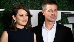 Brad Pitt reaparece al lado de Marion Cotillard