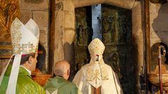 Cierre de la puerta santa en Santiago