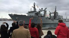 El «Patiño» vuelve a casa tras su misión en Canadá