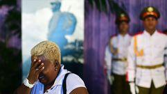 Los cubanos se despiden de Fidel Castro