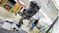 Este robot se mantiene en equlibrio mejor que tú
