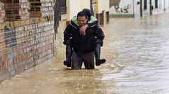 Málaga sufre las peores inundaciones en 25 años