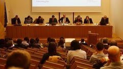Claustro anual de la Universidade de Vigo