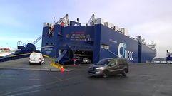 Nos subimos al carguero de coches más grande del mundo
