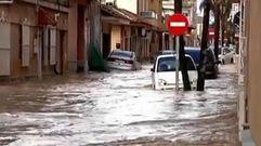 Las consecuencias de las intensas lluvias en el Mediterráneo