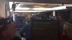 Pánico en la terminal