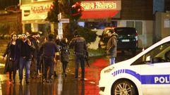 El atentado en Estambul, en imágenes