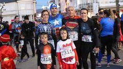 Paula Mayobre y Toño Teijido ganan la San Silvestre de As Pontes