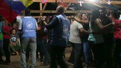 Las polémicas imágenes de los delegados de la ONU bailando con las FARC