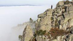 Las fotos de la niebla en el cañón del Sil
