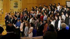 La Universidad de Vigo celebra su patrón premiando la excelencia de 98 estudiantes