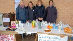Protesta solidaria de los trabajadores de las cafeterías del campus de Viesques