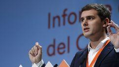 Rivera presume del peso nacional de las reformas de Ciudadanos y de no tener deudas