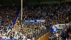 Las aficiones de Celta y Alavés se apoyan mutamente tras el partido