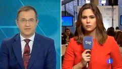 TVE contrasta el mal tiempo con «la alegría» del Congreso del PP