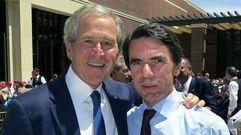 Presidentes americanos en España, del «amigo» Aznar al frío «González»