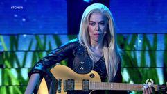 Beatriz Luengo imita a Lady Gaga
