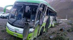 Mueren 19 personas en un accidente de autobús en Argentina