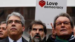 Artur Mas: «La democracia española se está agrietando por momentos»