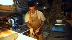 Adrián Felípez, el chef que trabaja sin nevera