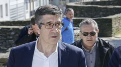 Patxi López defiende desde Lugo la unidad del PSOE para «evitar el choque de trenes»