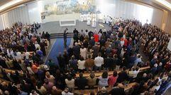 Los vecinos de Milladoiro estrenan su iglesia