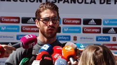 Sergio Ramos, sobre la polémica con Piqué: «Ahora le doy un abrazo cuando lo vea»